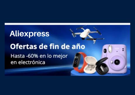Descuento electrónica Aliexpress
